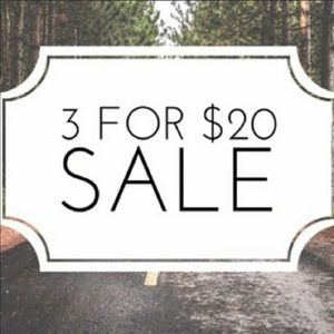🌻 3 for $20 Sale! 🌻